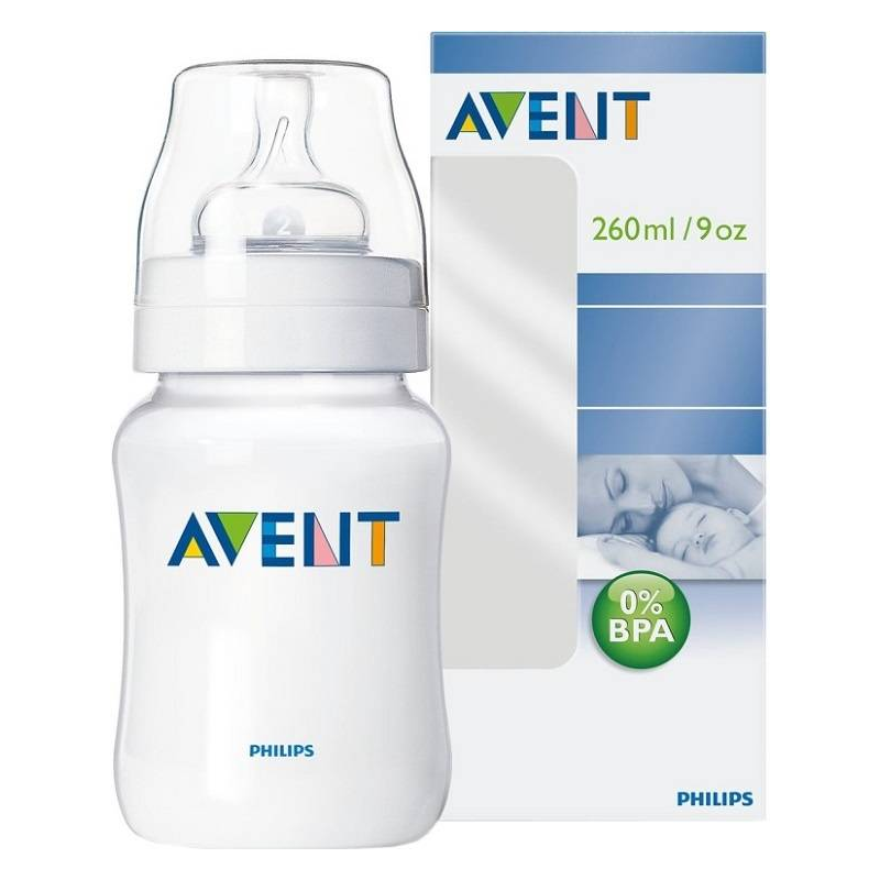 Бутылочка для кормления, 260 мл. (Philips Avent)