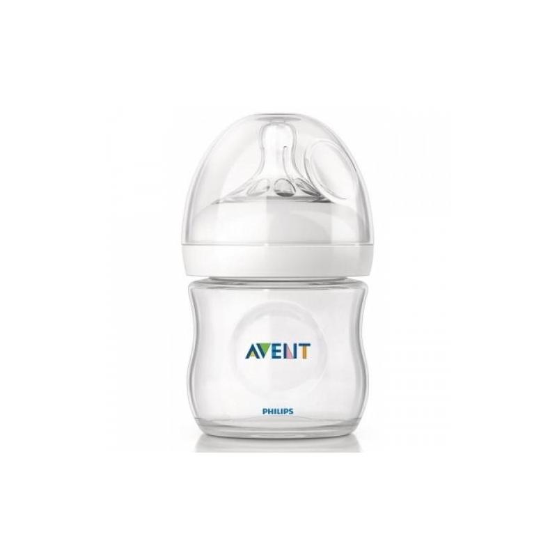 Бутылочка для кормления Natural, 125 мл. (Philips Avent)