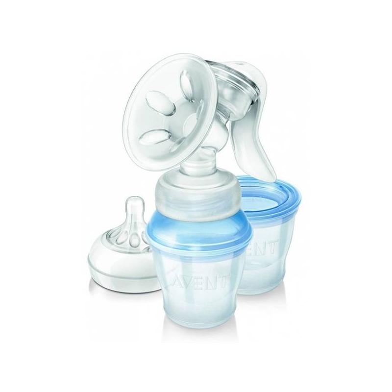 Philips Avent Молокоотсос ручной с системой хранения аксессуар помпа для преобразования в ручной молокоотсос ardo kombi kit 63 00 32