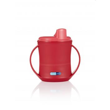 Кормление, Чашка поильник 2 в 1 210 мл Bebe Due (розовый)157578, фото