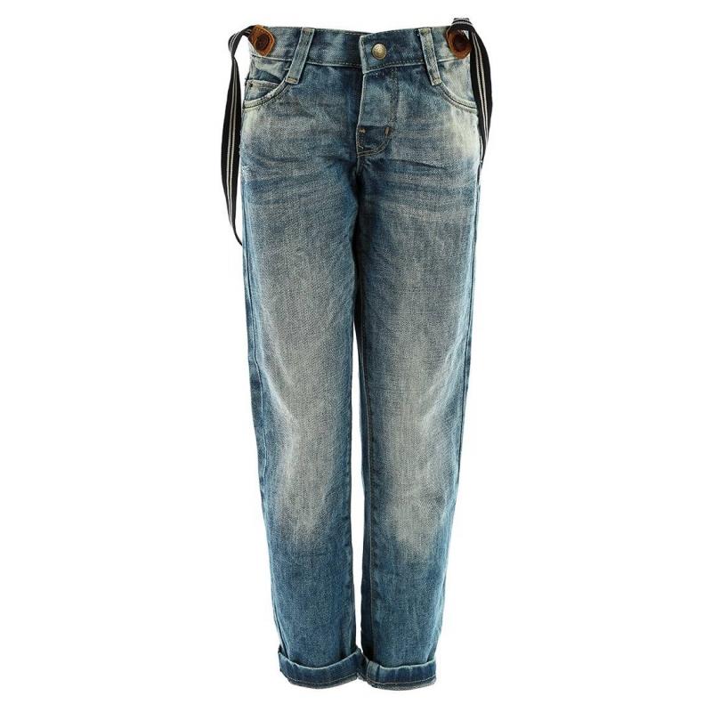 ДжинсыСиние джинсы с подтяжками марки MAYORAL для мальчиков. Джинсы ручной работы прямого слегка зауженного кроя с эффектом потертости. Застегиваются на кнопку, имеют пять карманов и подтяжки на пуговицах, которые можно снимать. Пояс регулируется специальными пуговицами на внутренней стороне.<br><br>Размер: 3 года<br>Цвет: Синий<br>Рост: 98<br>Пол: Для мальчика<br>Артикул: 601570<br>Страна производитель: Пакистан<br>Сезон: Всесезонный<br>Состав: 100% Хлопок<br>Бренд: Испания