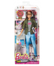 Кукла Barbie Программист Профессии Mattel