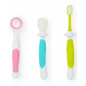 Гигиена, Набор зубных щеток 3 шт Farlin 157480, фото