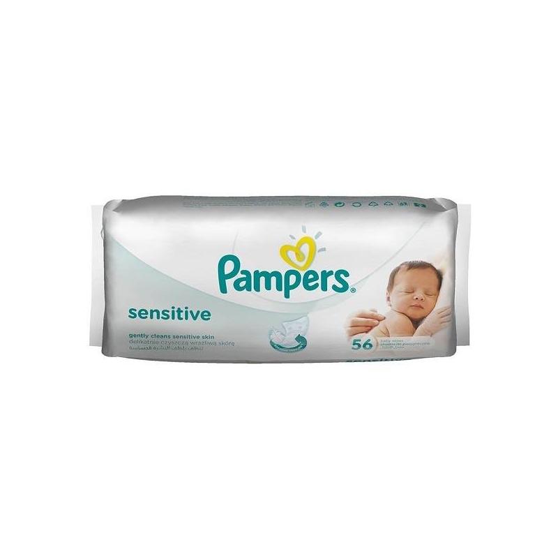 Pampers Салфетки детские 56 шт