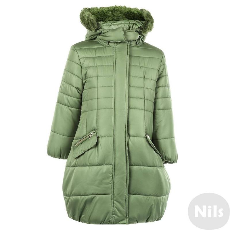 ПальтоПальто зеленого цвета для девочки марки MAYORAL.Осеннее пальто с мягкой подкладкой, со съемным капюшоном на кнопках имеет два кармана и удобные молнии на подоле по бокам. Капюшон отделан искусственным мехом. Пальто застегивается на молнию.<br><br>Размер: 8 лет<br>Цвет: Зеленый<br>Рост: 128<br>Пол: Для девочки<br>Артикул: 620518<br>Страна производитель: Китай<br>Сезон: Осень/Зима<br>Материал верха: Полиэстер<br>Состав: 100% Полиэстер<br>Бренд: Испания<br>Наполнитель: 100% Полиэстер
