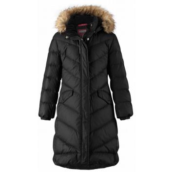 Девочки, Пальто Satu REIMA (черный)158773, фото