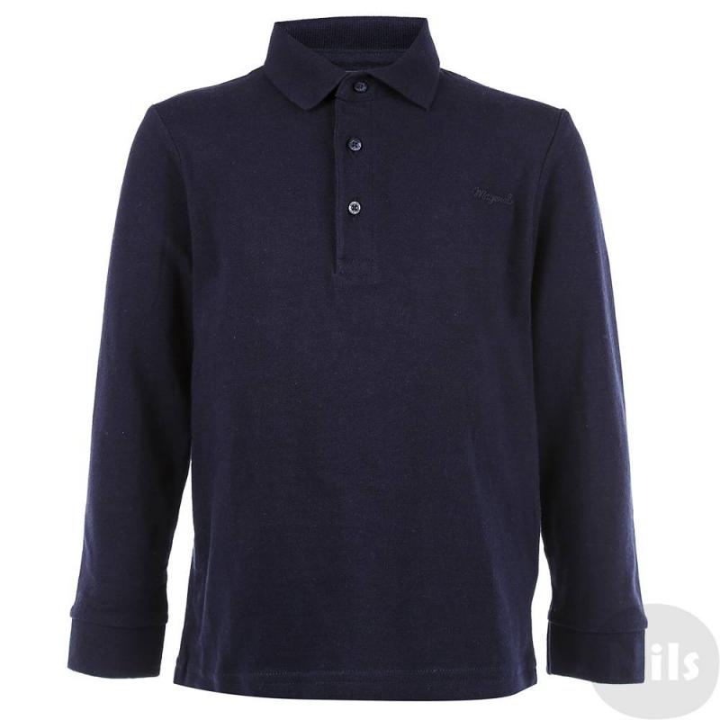 Рубашка-полоРубашка-поло синего цвета марки MAYORAL для мальчика.Поло с длинным рукавом сшито из стопроцентного хлопкового трикотажа застегивается на три пуговицы у ворота,манжетына резинке. На груди вышитый логотип.<br><br>Размер: 5 лет<br>Цвет: Темносиний<br>Рост: 110<br>Пол: Для мальчика<br>Артикул: 620294<br>Страна производитель: Бангладеш<br>Сезон: Осень/Зима<br>Состав: 100% Хлопок<br>Бренд: Испания<br>Вид застежки: Пуговицы
