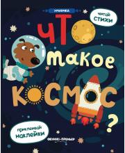 Книжка с наклейками Что такое космос? Разумовская Ю.Р.