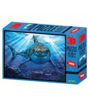 Стерео пазл Большая белая акула Prime 3D