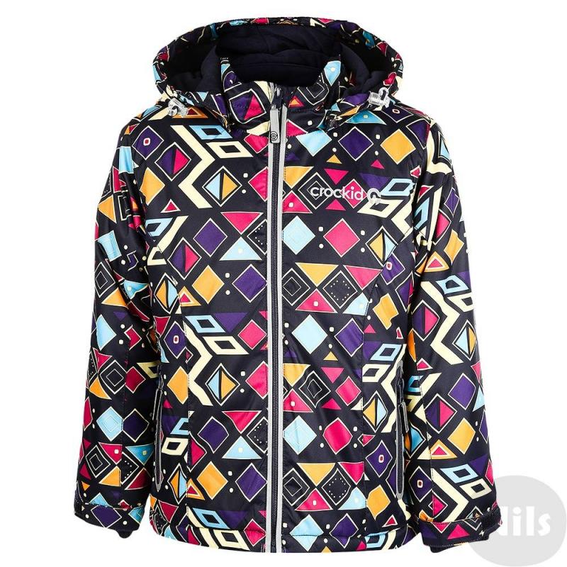 КурткаЗимняя куртка оранжевогоцвета с рисунком марки Crockid для девочек выполнена из водо- и ветронепроницаемого материала, который дышит и эффективно выводит лишнюю влагу в виде пара. Мембрана 5000 мм. Легкий и комфортный утеплитель нового поколения Fellex прекрасно сохраняет тепло, дышит.<br>Куртка имеет мягкую флисовую подкладку темно-серогоцвета, съемный капюшон на кнопках, два кармана с клапанами на поясе, удобные трикотажные манжеты, а также множество светоотражающих деталей для безопасности ребенка. Низ куртки регулируется эластичными шнурками со стопперами.<br><br>Размер: 4 года<br>Цвет: Оранжевый<br>Рост: 98-104<br>Пол: Для девочки<br>Артикул: 621365<br>Страна производитель: Китай<br>Сезон: Осень/Зима<br>Состав: 80% Полиэстер, 20% Полиуретан<br>Состав подкладки: 100% Полиэстер<br>Бренд: Россия<br>Наполнитель: 100% Полиэстер<br>Температура: до -20°