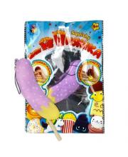 Игрушка-антистресс Мммняшка squishy Банан в карамели 1Toy