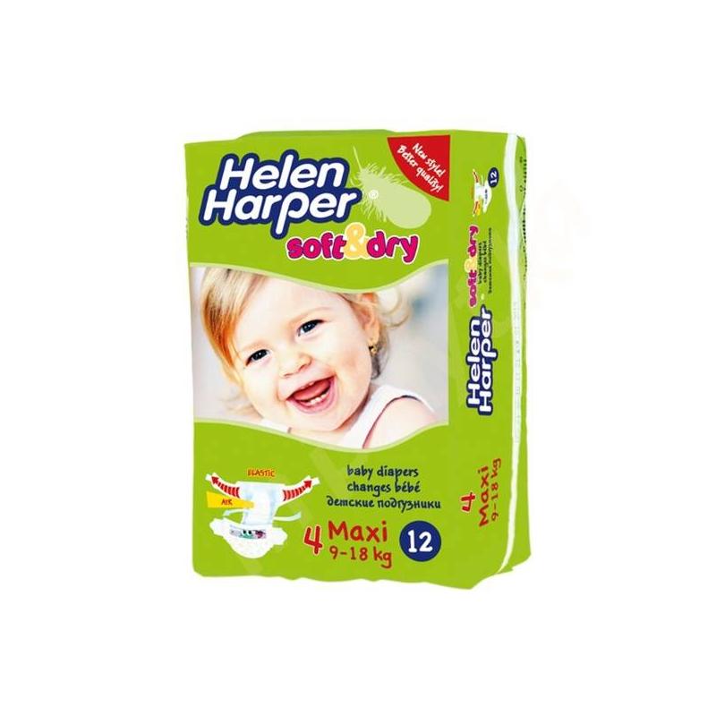 Helen Harper Подгузники Soft&Dry maxi 9-18 кг 12 шт.
