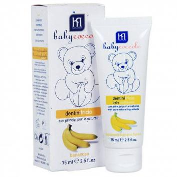 Гигиена, Зубная паста со вкусом банана 75 мл Babycoccole 621632, фото