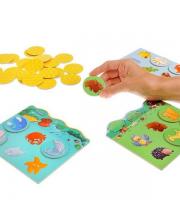 Игра детское лото Животные Djeco