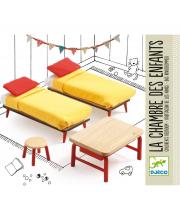 Мебель для кукольного дома Спальня для детей Djeco