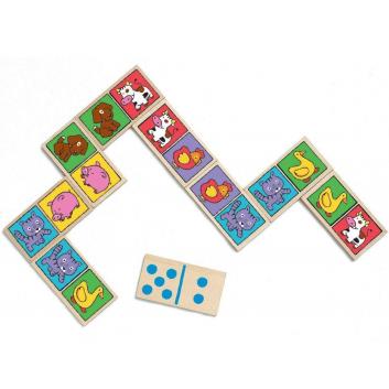 Игрушки, Настольная игра Домино-нимо Djeco 528128, фото