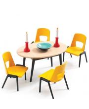 Мебель для кукольного дома Столовая Djeco