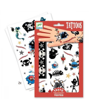 Татуировки Пираты Djeco