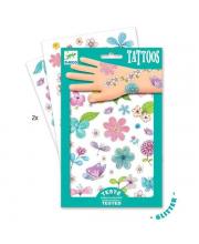 Татуировки Цветы Djeco