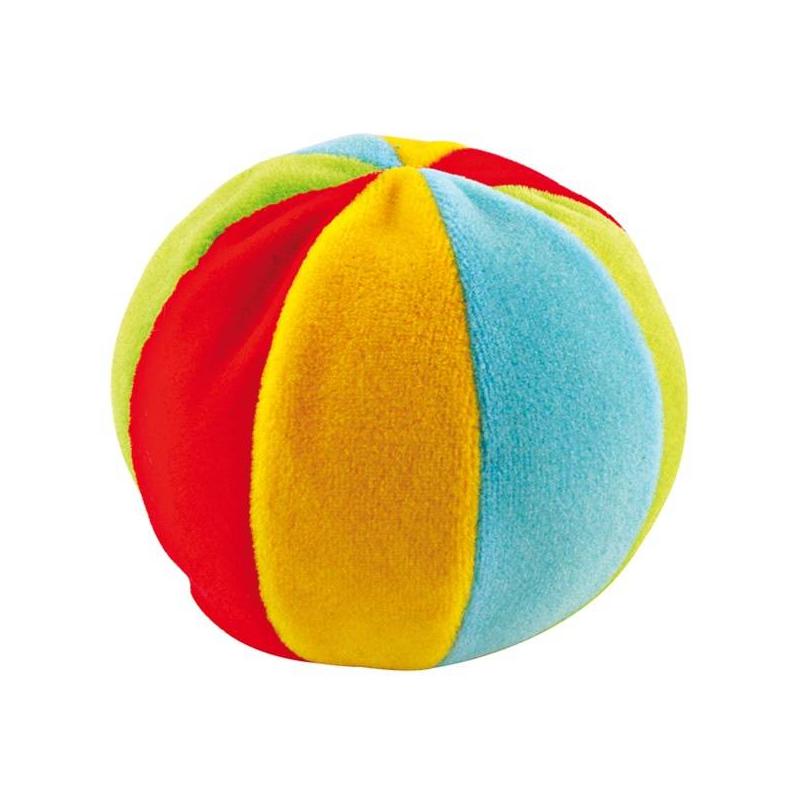 Игрушка МячикМягкая игрушка с погремушкой Canpol babies «Мячик» понравится любому малышу! Шар из разноцветной велюровой ткани побуждает ребенка к первым самостоятельным передвижениям. Отбрасывание мячика от крохи станет для него стимулом к первым шажкам.<br>Благодаря ярким цветам игрушки у малыша развивается внимание и способность визуального восприятия. Потайная погремушка не просто разнообразит и оживит игру маленького человечка, но при этом будет стимулировать его слух. Вас приятно удивит нежная и качественная ткань, из которой изготовлен шар. Она не вызывает раздражений и аллергических реакций на детской коже.Важным преимуществом является простой уход за мягкой игрушкой: достаточно по мере необходимости мыть ее детским мылом и тщательно просушивать.Особенности: изготавливается из высококачественного, экологически безопасного текстиля; рекомендовано для детей возрастом от 1 года.<br><br>Возраст от: 12 месяцев<br>Пол: Не указан<br>Артикул: 621838<br>Бренд: Польша<br>Размер: от 12 месяцев до 3 лет