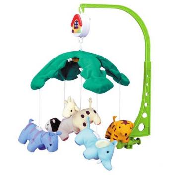 Игрушки, Музыкальная карусель Веселый зоопарк Canpol Babies 621841, фото