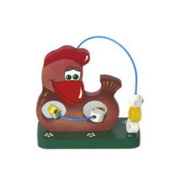 Игрушки, Игрушка-серпантинка Курочка Ряба Крона 621895, фото