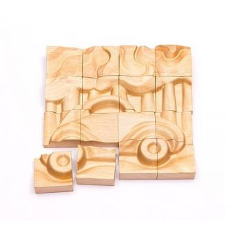 Игрушки, Пазл Автомобиль 16 деталей ТОМИК 621917, фото