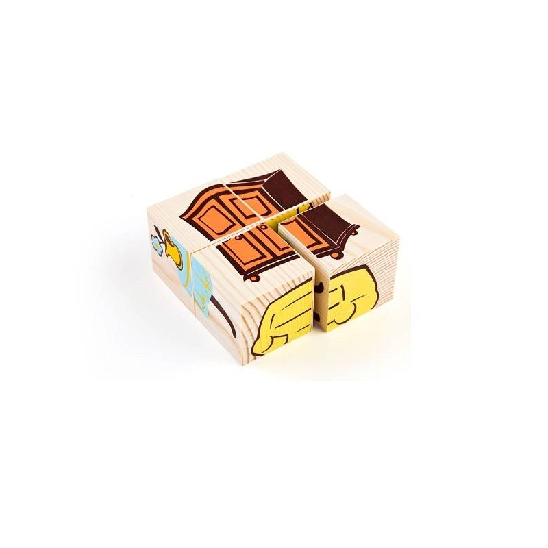 Кубики Сложи рисунок Мебель
