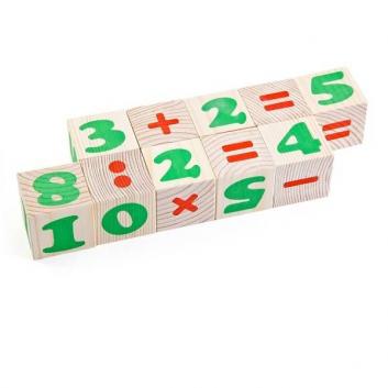 Игрушки, Кубики Цифры ТОМИК 621906, фото