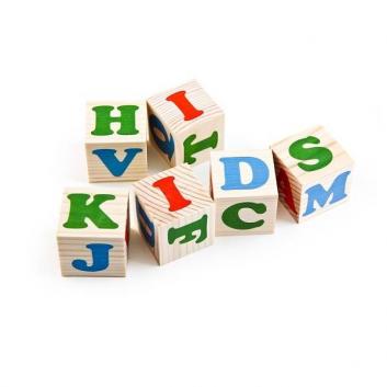 Кубики Алфавит английский