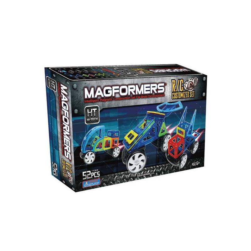 MAGFORMERS Магнитный конструктор R/C Custom set магнитный конструктор magformers 707003 63091 r c cruiser set