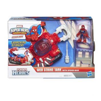 Любимые герои, Фигурка и танк Человека-Паука (Spider-man) HASBRO 622404, фото