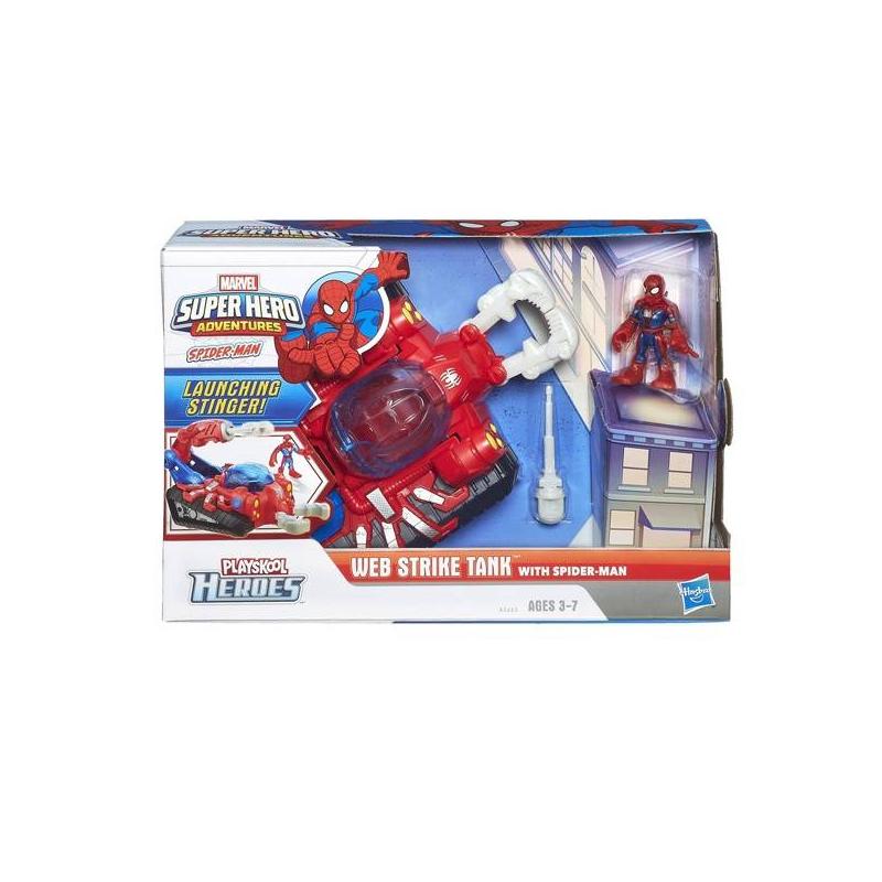 HASBRO Фигурка и танк Человека-Паука (Spider-man)