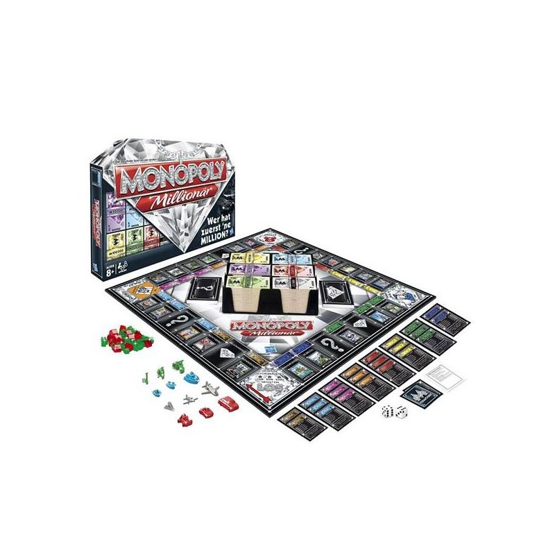 HASBRO Настольная игра Монополия Миллионер настольная игра hasbro hasbro настольная игра монополия империя обновленная