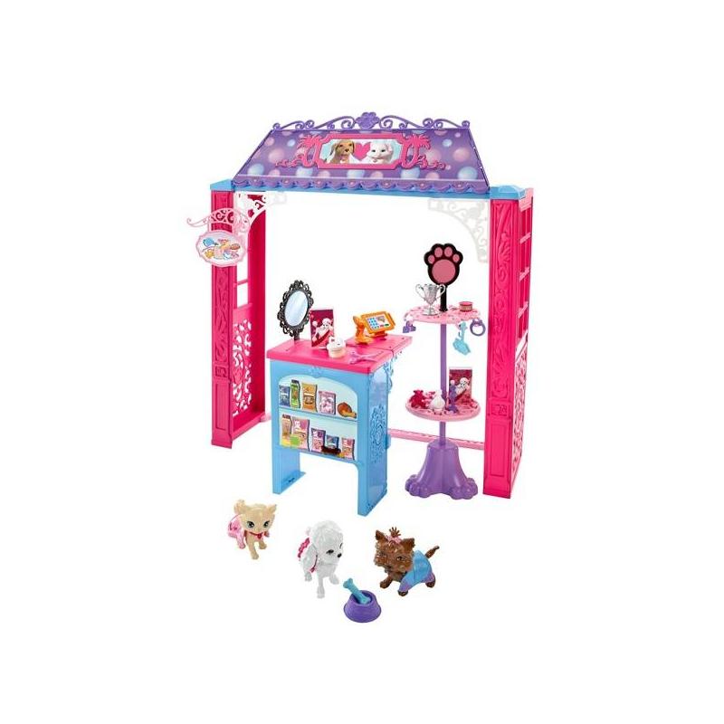 Mattel Магазин одежды для питомцев Barbie игровой набор barbie магазин одежды для питомцев
