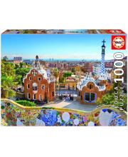Пазл 1000 деталей Вид на Барселону из парка Гуэля Educa