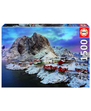 Пазл 1500 деталей Лофотенские острова Норвегия Educa