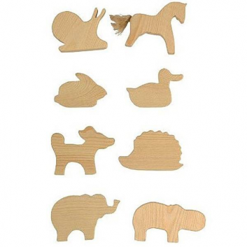 Игрушки, Подвески Животные 8 шт Сказки дерева 622514, фото