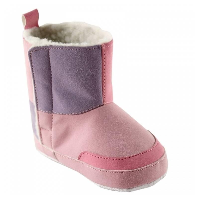 ПинеткиПинетки розового цвета, стилизованные под угги, маркиLUVABLE FRIENDS для девочек.<br>Мягкие, уютные, теплые пинетки, своим дизайном напоминающие угги, непременно понравятся всем маленьким модницам! Пинетки-угги выполнены из искусственной замши, а лоскутный дизайн делает их еще более по-домашнему уютными. Внутри пинетки утеплены тонким слоем искусственного меха, подошва пинеток сделана из хлопка, имеет противоскользящую поверхность.<br><br>Размер: 17<br>Цвет: Сиреневый<br>Пол: Для девочки<br>Артикул: 622846<br>Страна производитель: Китай<br>Сезон: Всесезонный<br>Материал верха: Полиуретан<br>Материал подкладки: Текстиль<br>Материал подошвы: 100% Хлопок<br>Состав подкладки: 100% Полиэстер<br>Бренд: США