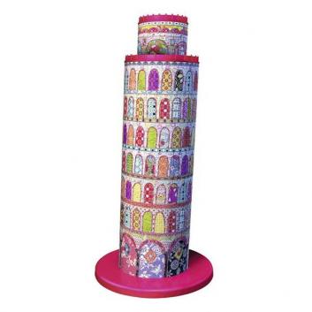 Игрушки, 3D Пазл Тула Мун - Пизанская башня 216 деталей RAVENSBURGER 622547, фото