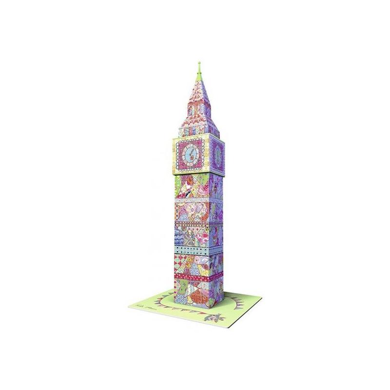 Купить 3D Пазл Тула Мун - Биг Бен 216 деталей, RAVENSBURGER, от 10 лет, Не указан, 622548