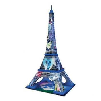 3D Пазл Микки и Минни - Эйфелева башня