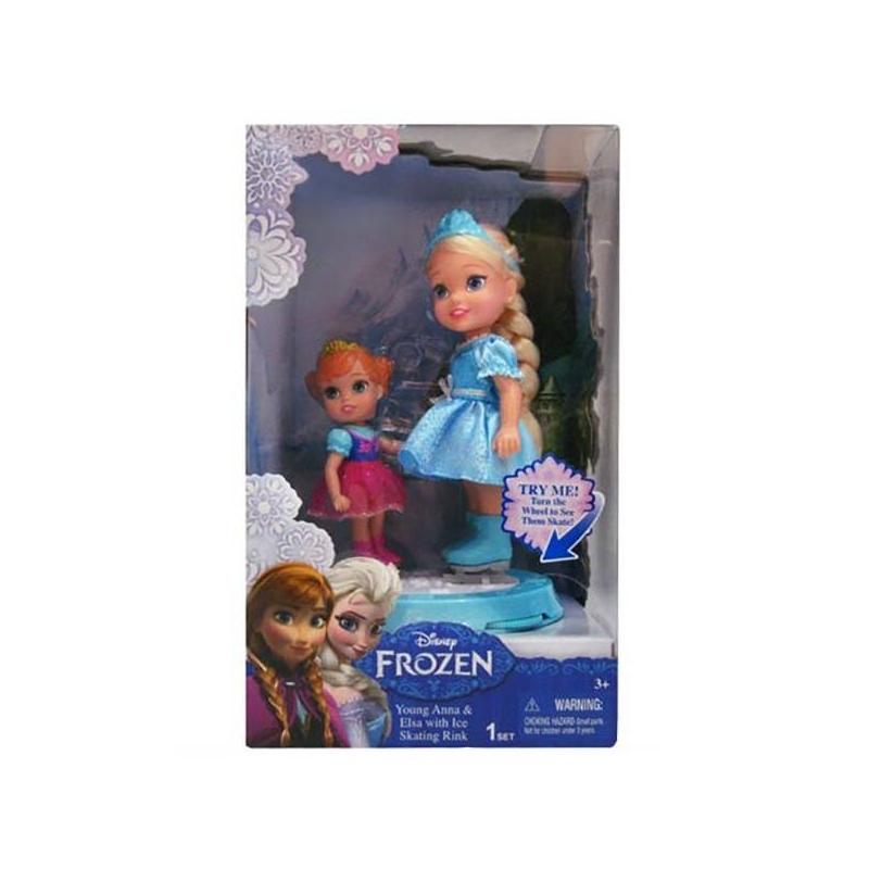 Mattel Игровой набор Принцессы на катке