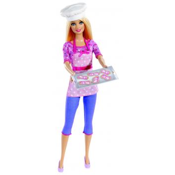 Игрушки, Кукла Barbie Шеф-кондитер Mattel 623467, фото