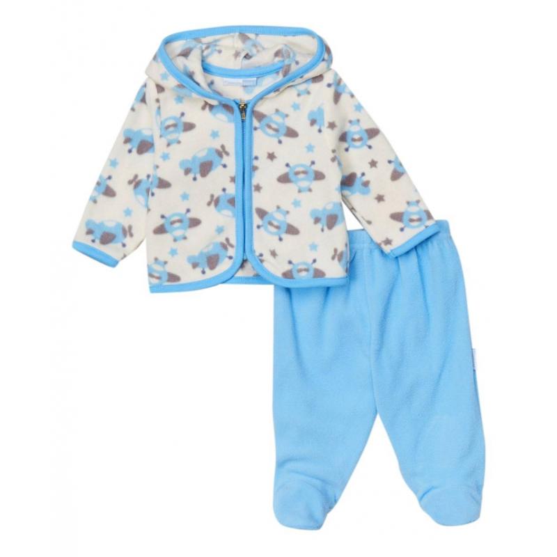 КомплектКомплект кофточка + ползункимарки VitaminsBaby для мальчиков.<br>Комплект выполнен в голубом цвете из приятного мягкого на ощупь плюшевого материала. Кофточка с длинным рукавом застегивается на молнию, ползунки с закрытыми ножками имеют удобную широкую резинку на поясе.<br><br>Размер: 6 месяцев<br>Цвет: Голубой<br>Рост: 68<br>Пол: Для мальчика<br>Артикул: 623103<br>Страна производитель: Китай<br>Сезон: Всесезонный<br>Состав: 100% Полиэстер<br>Бренд: США