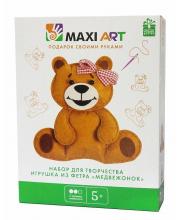 Набор для Творчества Игрушка из Фетра Медвежонок Maxi Art