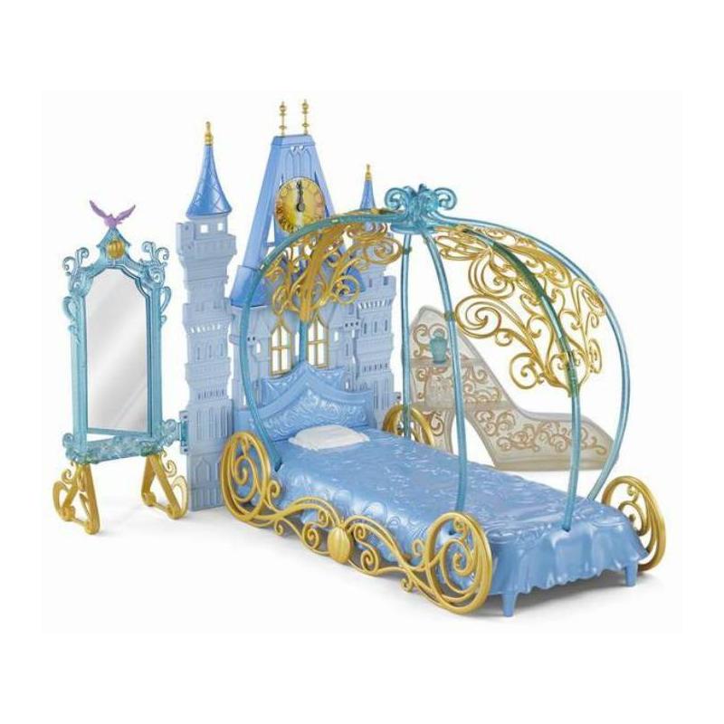 Mattel Игровой набор Disney Princess Спальня для Золушки
