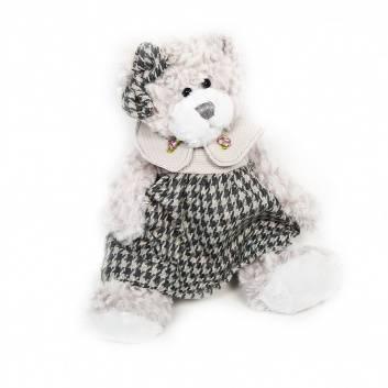 Игрушки, Мягкая Игрушка Мишка Белла в Платье 20 см Maxitoys Luxury 171398, фото