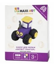 Набор для Лепки Бигфут Трактор для Мальчиков Maxi Art