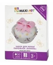 Набор для Лепки Пирожное Ваниль для Девочек Maxi Art
